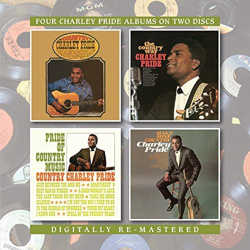 Charley Pride Country Charley Pride The Coun Import Gbr 2 CD