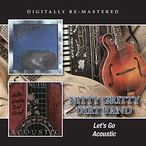 Nitty Gritty Dirt Band Let's Go Acoustic Import Gbr 2 CD