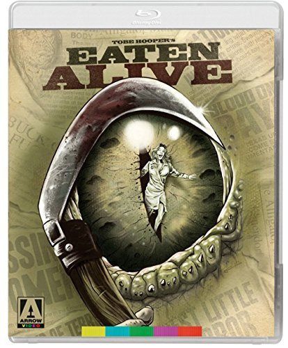 Eaten Alive Englund Burns Blu Ray DVD R