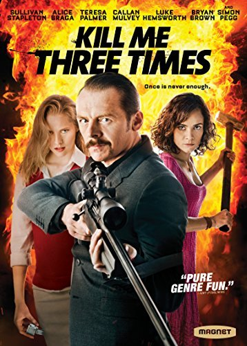 Kill Me Three Times Pegg Palmer Braga DVD R