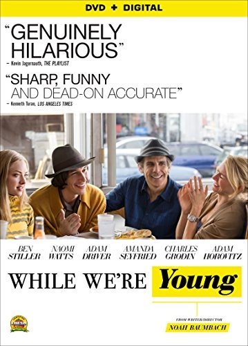 While We're Young Stiller Watts Driver DVD R