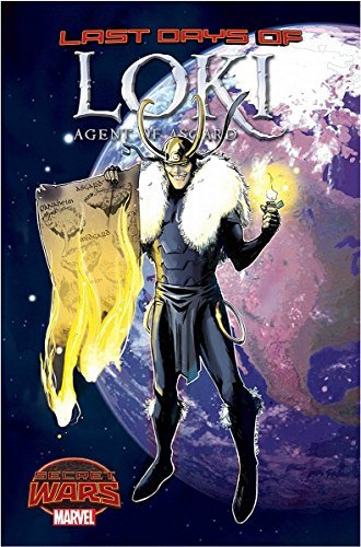 Comic Book Loki Agent Of Asgard