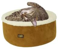 "Afp Cat Bed 16"""" Brown Cuddle"