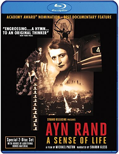Ayn Rand Sense Of Life Ayn Rand Sense Of Life Blu Ray Nr