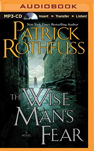 Patrick Rothfuss The Wise Man's Fear Mp3 CD