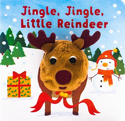 Parragon Books Ltd Jingle Jingle Little Reindeer Finger Puppet Book