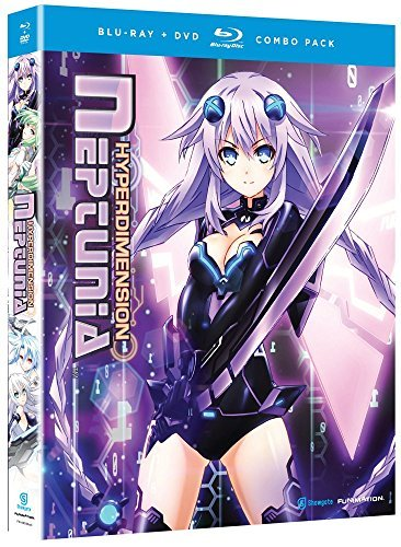 Hyperdimension Neptunia Complete Series Blu Ray DVD