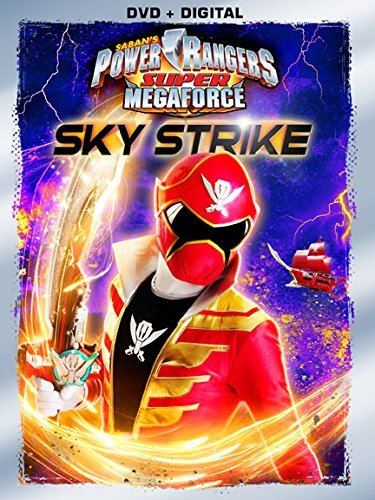 Power Rangers Super Megaforce Sky Strike DVD