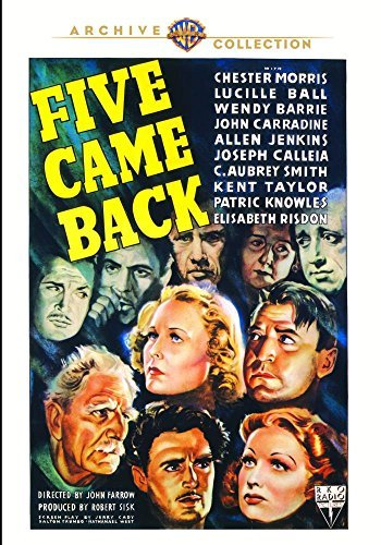 Five Came Back Five Came Back DVD Mod This Item Is Made On Demand Could Take 2 3 Weeks For Delivery
