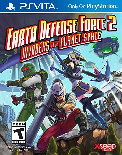 Playstation Vita Earth Defense Force 2 Invaders From Planet Space Earth Defense Force 2 Invaders From Planet Space