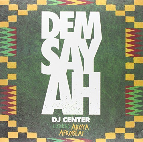 Dj Center Dem Say Ah 10 Inch Gold Vinyl