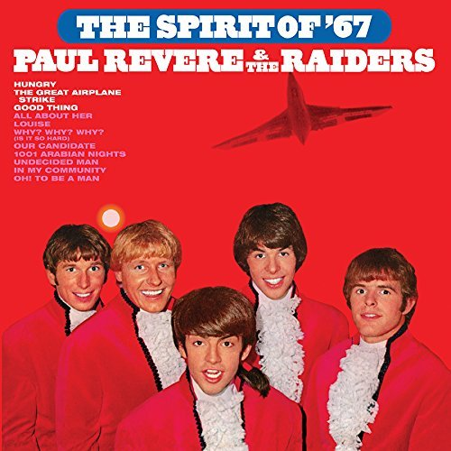 Paul Revere & The Raiders Featuring Mark Lindsay Spirit Of '67 180 Gram Audiophile Red Vinyl Limited Anniversary