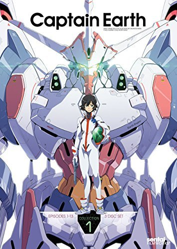 Captain Earth Collection 1 DVD Nr