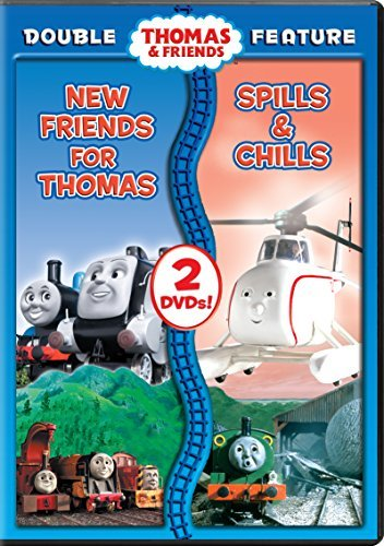 Thomas & Friends New Friends For Thomas Spills & Chills DVD