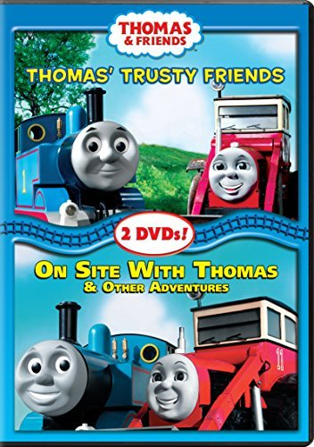 Thomas & Friends Thomas Trusty Friends On Site With Thomas DVD