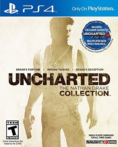 Ps4 Uncharted The Nathan Drake Collection Uncharted The Nathan Drake Collection