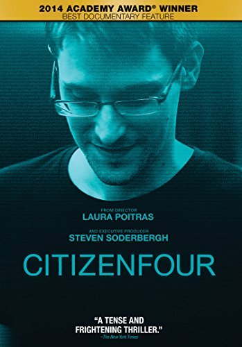 Citizenfour Edward Snowden DVD R