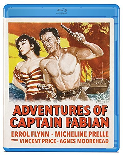 Adventures Of Captain Fabian Flynn Prelle Price Blu Ray Nr