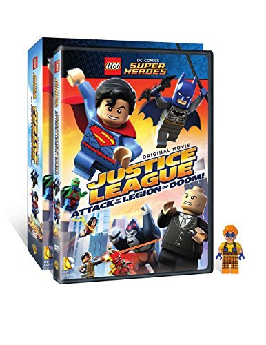 Lego Dc Super Heroes Justice League Attack Of The Legion Of Doom! DVD Figurine Nr