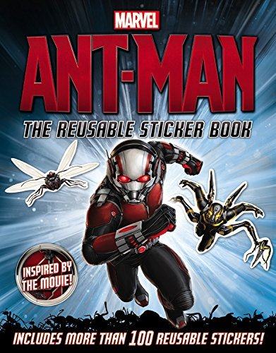 Charles Cho Marvel's Ant Man The Reusable Sticker Book