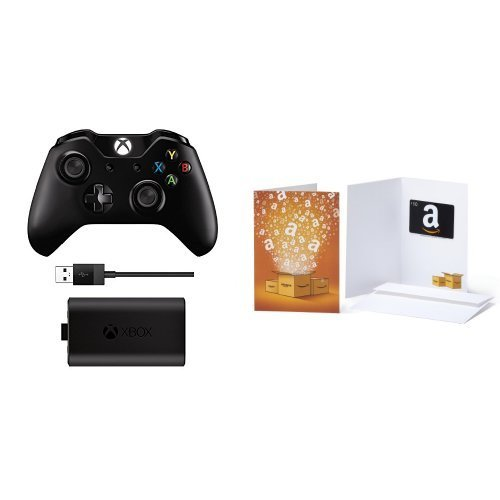 Xbox One Accessory Wireless Controller (w. Head Phone Jack) & Play & Charge Kit Wireless Controller (w. Head Phone Jack) & Play &