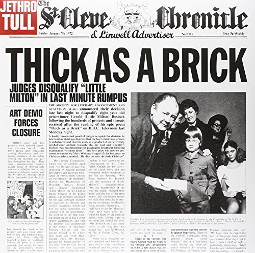 Jethro Tull Thick As A Brick Thick As A Brick