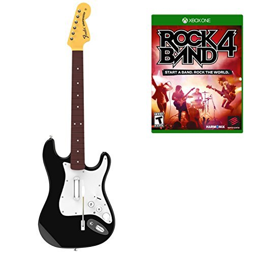 Xbox One Rock Band 4 Guitar And Software Bundle Rock Band 4 Guitar And Software Bundle