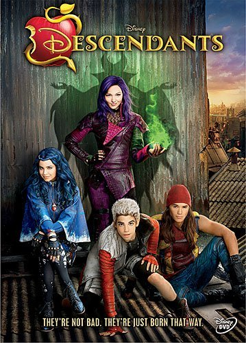 Descendants Disney DVD