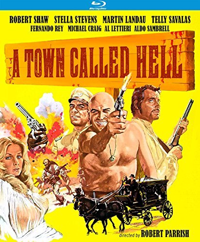 Town Called Hell Shaw Stevens Landau Savalas Blu Ray R