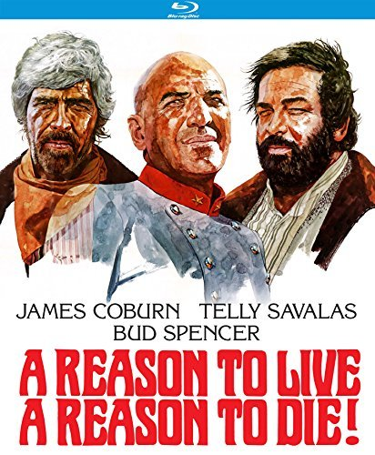A Reason To Live A Reason To Die! Coburn Savalas Blu Ray Pg