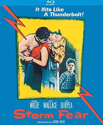 Storm Fear Wilde Wallace Duryea Blu Ray Nr