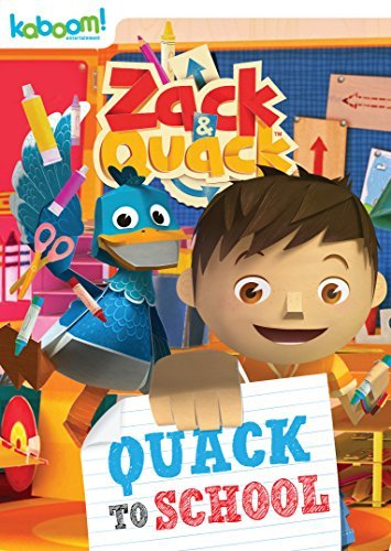 Zack & Quack Quack To School DVD