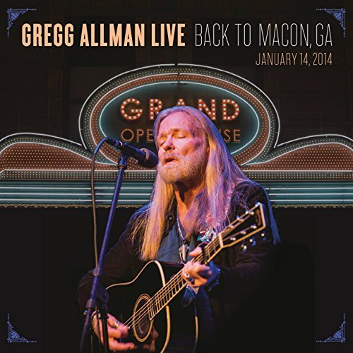 Gregg Allman Gregg Allman Live Back To Macon Ga 2 CD DVD Combo