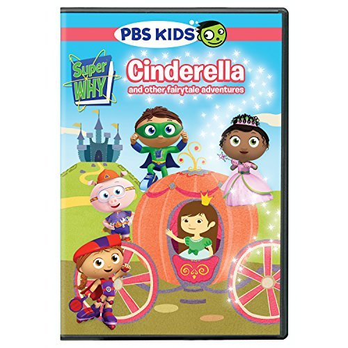 Super Why Cinderella & Other Fairytale Adventures DVD