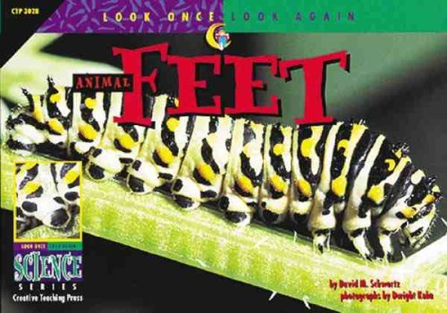 David M. Schwartz Look Once Look Again Animal Feet