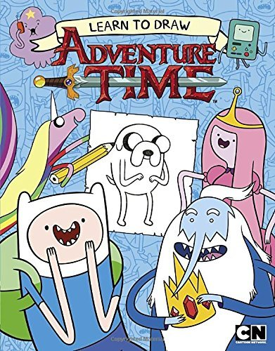 Cartoon Network Books Learn To Draw Adventure Time