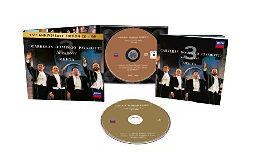 Pavarotti Domingo Carreras The Three Tenors 25th Anniversary Three Tenors 25th Anniversary