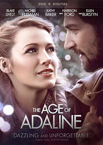 Age Of Adaline Lively Huisman Ford Burstyn DVD Dc Pg13