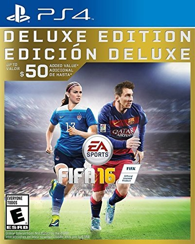 Ps4 Fifa 16 Deluxe Edition