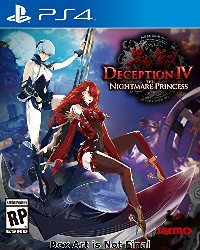 Ps4 Deception Iv The Nightmare Princess Deception Iv The Nightmare Princess