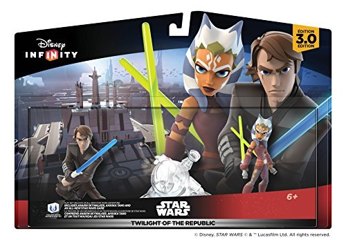 Disney Infinity 3.0 Play Set Star Wars Twilight Of The Republic Play Set