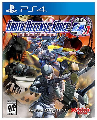 Ps4 Earth Defense Force 4.1 Shadow Of New Despair Earth Defense Force 4.1 Shadow Of New Despair