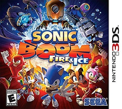Nintendo 3ds Sonic Boom Fire & Ice Sonic Boom Fire & Ice