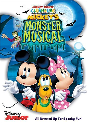 Mickey Mouse Clubhouse Mickey's Monster Musical DVD Mickey's Monster Musical