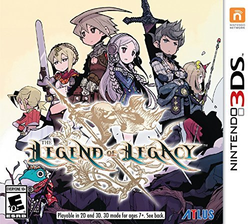 Nintendo 3ds Legend Of Legacy Legend Of Legacy