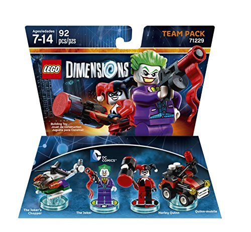 Lego Dimensions Team Pack Joker Harley Quinn