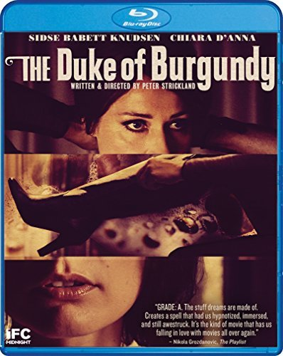 Duke Of Burgundy Knudsen Swinn D'anna Blu Ray DVD Nr