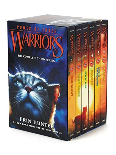 Erin Hunter Warriors Power Of Three Box Set Volumes 1 To 6