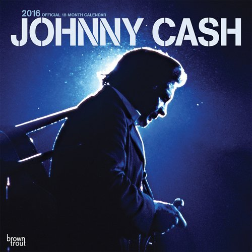 Inc Browntrout Publishers Johnny Cash Calendar 2016