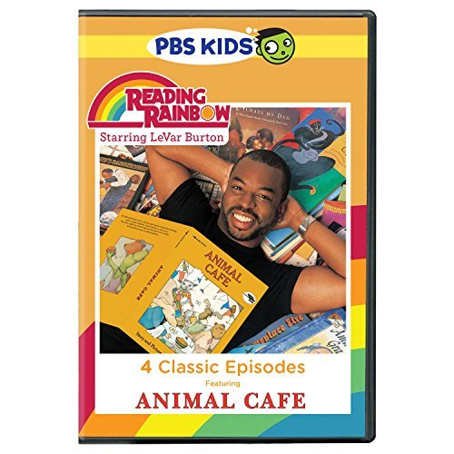 Reading Rainbow Animal Cafe DVD